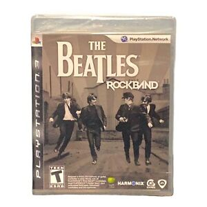 The Beatles: Rock Band (Sony PlayStation 3, 2009) PS3 - Brand New Factory Sealed