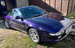 Rare '99 v Toyota MR2 Rev 5 2.0 Gt 16v N/A Cosmos Blue