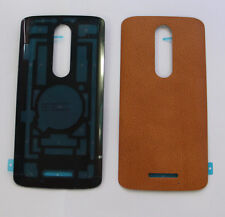 Real Leather battery Door Cover For Motorola Droid Turbo 2 X Force XT1581 Orange