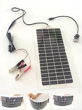 10.5W12V sime panneaux solaires Chargeur de batterie pour voiture/ camion/Moto
