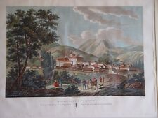 España. Segovia. «Vista del palacio de San Idelfonso» Alexandre Laborde