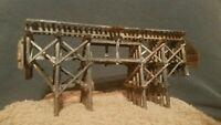 N SCALE TRAIN CAR TRACK DETAIL BRIDGE MTL ATLAS INTERMOUNTAIN ATHEARN WEATHERED