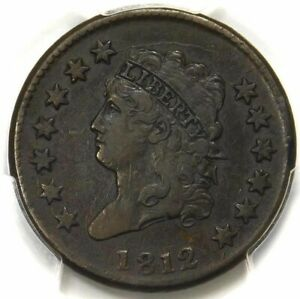 😍🇺🇸😍❤️PCGS VF30 SMALL DATE 1812 CLASSIC HEAD LARGE CENT