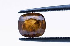 1.50ct hibonite GIA Zertifikat Cushion Cut Gemstone. zwischen den Welten seltenste Juwel Typen