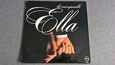 ELLA FITZGERALD - THE INCOMPARABLE ELLA .     LP.