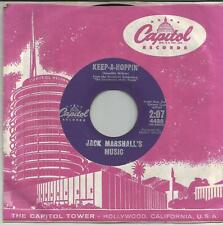 JACK MARSHALL'S MUSIC Kepp a hoppin US SINGLE CAPITOL