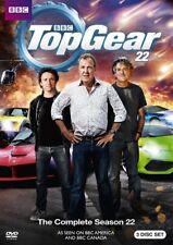 TOP GEAR COMPLETE SEASON 22 New Sealed 3 DVD Set