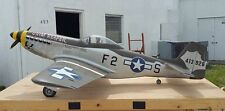 "Giant Scale Bud Nosen  P51 Mustang  102""   RC   Printed Plans"