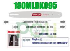 BARRA OREGON PRO-AM 180MLBK095 45 cm PASSO 325'' SPESSORE 1.3mm - 72 MAGLIE