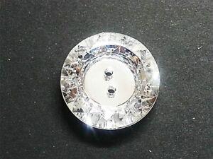 CraftbuddyUS AB13 20pcs 25mm Clear Round Acrylic Crystal Rhinestone Buttons, DIY