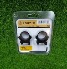 "Leupold PRW2 1"", Medium Scope Rings, Matte Black - 174081"