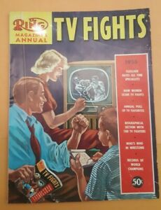 The Ring Boxing Magazine: 1955 Special Edition. TV Fights. Huge. Tons Of Info.
