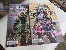 MARVEL UNIVERS HS  CROSSOVER 1 et 2 ..panini comics. TBE