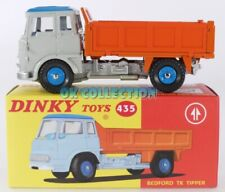 1:43 ATLAS EDITIONS DINKY TOYS 435 -BEDFORD TK TIPPER CAMION BENNA RIBALTABILE