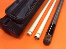 LONGONI POOL CUE HURRICANE WITH 2 SHAFTS & CASE (special edition).
