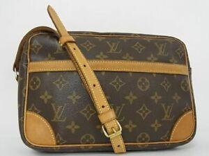 Authentic LOUIS VUITTON M51276 Monogram Trocadero 23 Shoulder Bag Brown K6475MM