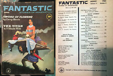 Fantastic Stories of Imagination August 1962 V11N8 Roger Zelazny debut sci-fi