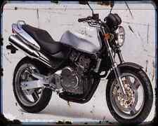 Honda Cb250 Hornet 96 A4 Metal Sign Motorbike Vintage Aged