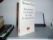 Remontrance A La Menagere De Moins De 50 Ans - Berna...