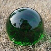 Asian Rare Natural Quartz Green Magic Crystal Healing Ball Sphere 40mm+Stand j