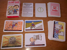 Know Trouble CARD GAME made by DETTOL A rare game of SNAP with SAFETY in Mind!