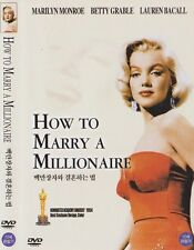 How to Marry a Millionaire (1953) New Sealed DVD Marilyn Monroe