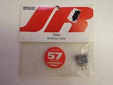 JR - FM RECEIVER CRYSTAL - CHANNEL 57 - 72.930 MHz AIRCRAFT ONLY- MODEL# JRPXFR