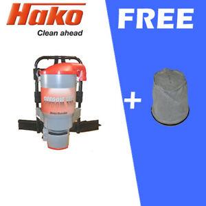 HAKO Shadow Backpack Vacuum Commercial Cleaner + Clothbag Grey(1) FREE