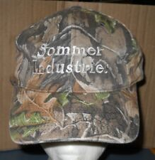 SOMMER INDUSTRIES CAMO HAT/CAP ADJUSTABLE ONE SIZE