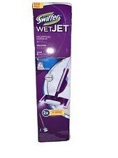WetJet Swiffer Starter Kit Mop Hardwood Tile Laminate Spray Cleaner Floor