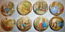 8 Vintage Peter Rabbit Wooden Dresser Baby Bedding Nursery Cordinat Drawer Knobs