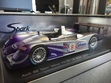 AUDI R8 Le Mans n. 8 Team Veloqx 1:18 SPARK