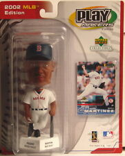 PEDRO MARTINEZ Boston Red Sox 2002 Play Makers By Upper Deck Bobblehead Figurine