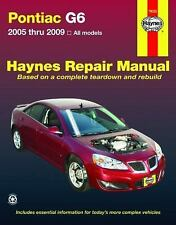 2005 2006 2007 2008 2009 Pontiac G6 Haynes Repair Service Shop Manual 7829