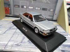 AUDI V8 Quattro Limousine 1988 silber silver D11 / 4C Minichamps Maxichamps 1:43