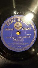 SPANISH 78 rpm RECORD Parlophon SARA DE ORTEGA Manuel Sierra PITO & TAMBOR Jota