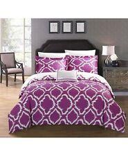 Chic Home 4-Piece KING Duvet Cover Set Juniper Lavender L97324