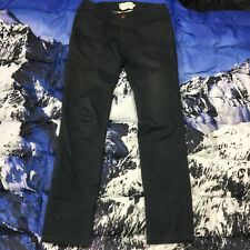Wings + Horns Men's Slim Fit Navy Casual Chino Pants Size 29 Made in Canada