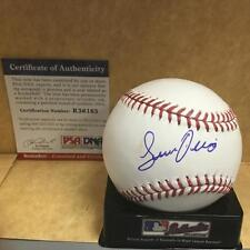 JHAILYN ORTIZ PHILADELPHIA PHILLIES ROOKIE BALL M.L. SIGNED BASEBALL PSA R36165
