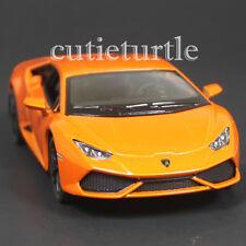 Kinsmart Lamborghini Huracan LP 610-4 1:36 Diecast Toy Car Orange