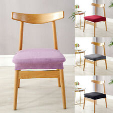 Elastic Stretch Dining Chair Seat Cover Removable Slipcovers For Home Decoration