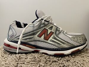 New Balance Top-Of-The-Line Mens Running Shoes, MR1224NR, White, Size 12 (2E)
