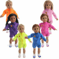 """Hot Latest Handmade Casual 2 piece set Fits 18"""" Inch American Girl Doll Clothes"""