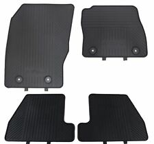 Genuine Ford Focus 2015 onwards Front and Rear Rubber Floor Mats Set of 4