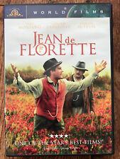 DANIEL AUTEUIL GERARD deaprdieu Jean de florette FRANCES Clásica REGIÓN 1 US DVD