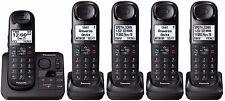 Panasonic KX-TGL433B + 2 KX-TGLA40B Handsets DECT 6.0 Plus Cordless Phone System