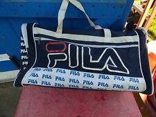 sac de sport Fila en toile tennis vintage