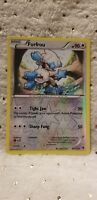 Pokemon TCG XY Phantom Forces Furfrou #90/119 Reverse Holo Uncommon Mint English