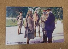 WW1 Daily mail battle Pictures Genaral Haig and Sir Pertab Singh unposted .. XC2