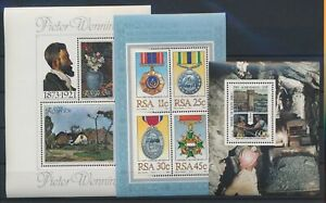 LN82518 South Africa paintings order medal awards sheets MNH